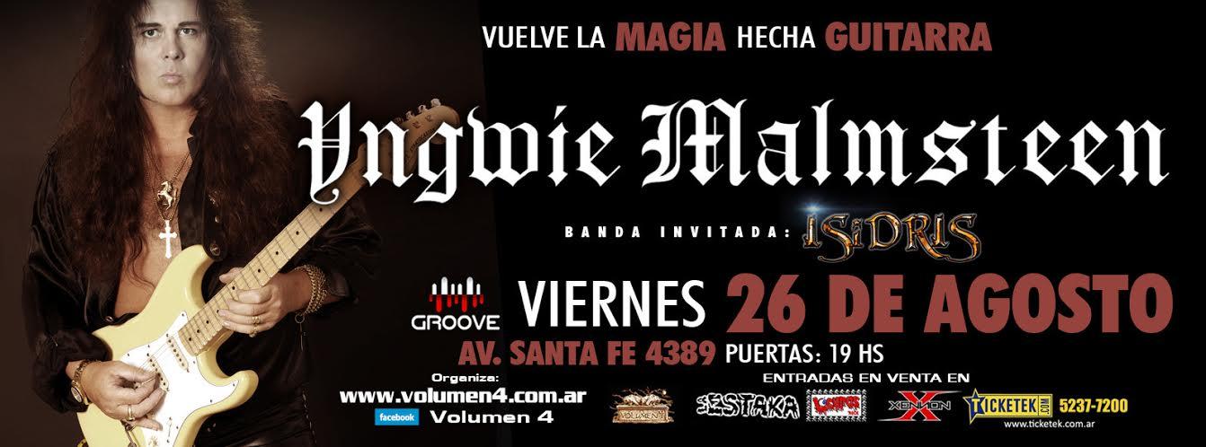 Yngwie Malmsteen e ISIDRIS 27 de Mayo - Groove
