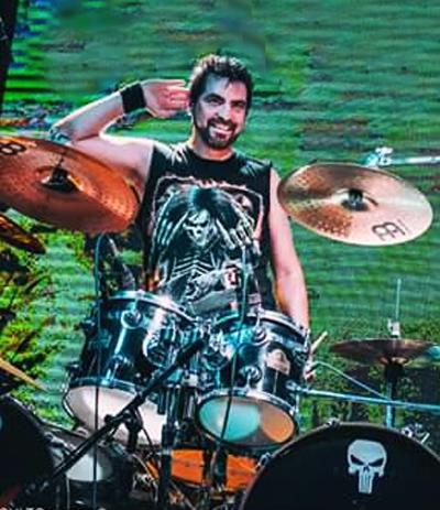 Diego Blanco - Drums - ISIDRIS