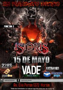 Isidris en vivo en VADE - 15 de Mayo 2021